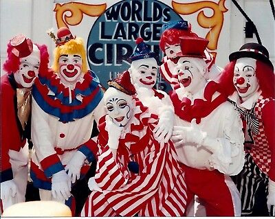 1985 - Clyde Beatty - Cole Bros Circus Clown Alley