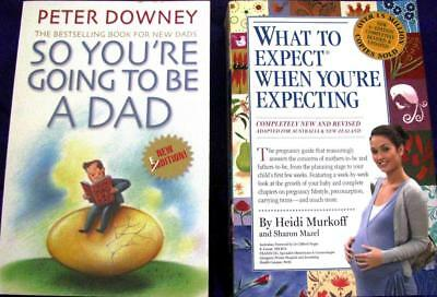 WHAT TO EXPECT WHEN YOU'RE EXPECTING + SO YOU'RE GOING TO BE A DAD - P. Downey