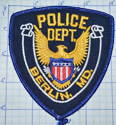 Maryland, Berlin Police Dept Patch