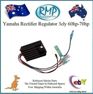 A Brand New RMP Rectifier Regulator Suits Yamaha 3cly 60hp 70hp # R 6H2-81960-00