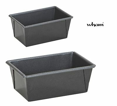Wham Cook Double Coated Non-Stick Teflon Traditional Loaf Tins