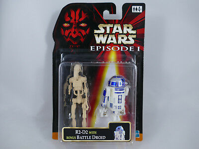 Es2 Star Wars Episode 1 R2-D2 With Bonus Battle Droid Double Pack Moc
