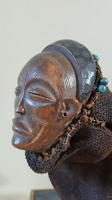 Tchokwe authentique Masque Angola Congo afriqu Premier tribal no Cameroun Baoule