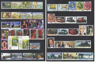 (767) Isle Of Man 1997-1999 Used Collection Cat £41+