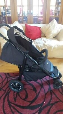 black joie buggy with rain cover less than a year old