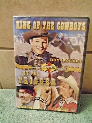 King of the Cowboys/My Pal Trigger (DVD, 2006) (sealed)