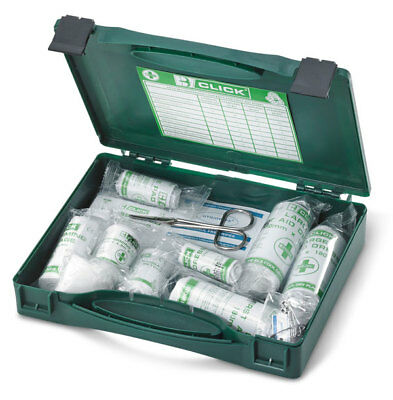 Click Medical PSV Public Service Vehicle Travel First Aid Kit Bandages Plasters