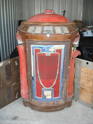 Seeburg Symphonola Model 146 Trashcan Jukebox with Red Top S/W of Chicago