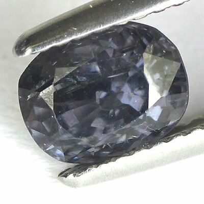 1.53 cts.7.4 x 5.9 mm. UNHEATED NATURAL VIOLET  SPINEL OVAL BURMA