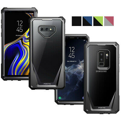 Poetic For Galaxy Note 9 / S9+ Case [Guardian] TPU Bumpers+360 Degree Protection