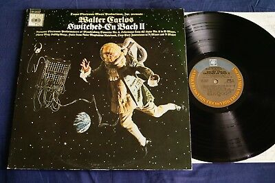 Walter Carlos, Bach – Switched-On Bach II   LP    OIS   US 1973    vg++