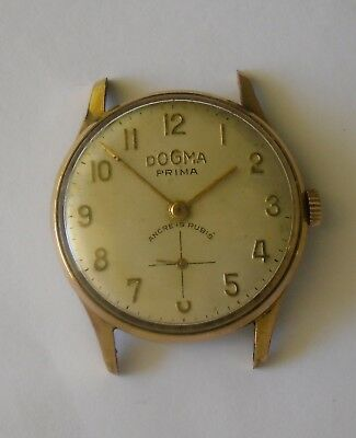 Dogma Prima FEF 290 Working 1940-50 ⌀ 30 mm Dogma Prima Gold Plated