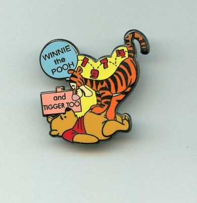 Disney 100 Years of Dreams Winnie the Pooh & Tigger Too! Bouncing Bounced LE Pin