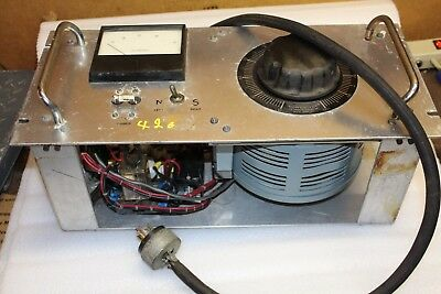 Powerstat Autotransformer md- 236 with Amp gauge   Powerstat Variac 236  2.8 KVA