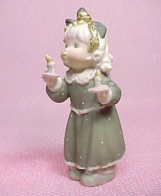 Enesco You Light Up My Life Little Girl Figurine 1997 Kim Anderson 284467