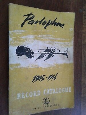 Parlophone Record Complete Catalogue 1945-1946 Book Very Rare