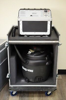Applied Magnetics Lab InfoStroyer Model 201 Data Destroyer w/ 16 Gallon Shop-Vac