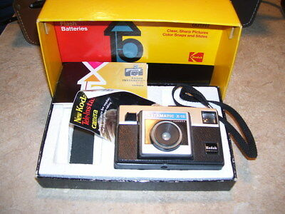 Vintage Kodak Instamatic X-15 Color Camera in Box