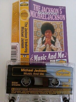 Michael Jackson feat. Jackson 5 - Music And Me - MC - Musikkassette - Tape - Kas