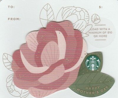 Carte Cadeau  Gift Card - Starbuck  Happy Mother's Day 6152 2017 (Usa )