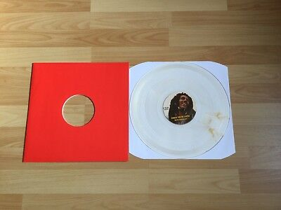 """Top Bob Marley Could You Be Loved 12 """" Clear Vinyl Schallplatte"""