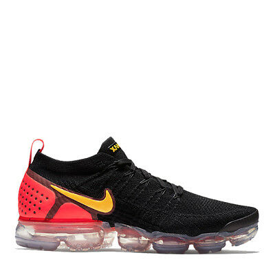 "Men's Brand New Nike Air VaporMax Flyknit 2 ""Laser Orange"" Sneakers [942842 005]"