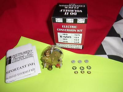 Clock Kit With Nos Electro-Mechanical Movement! 104-10/24S