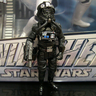 """STAR WARS the vintage collection LT OXIXO Imperial Tie Fighter pilot 3.75"""""""