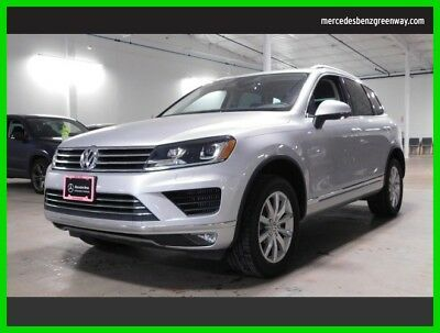 Volkswagen Touareg Sport w/Technology 2015 Sport w/Technology Used Turbo 3L V6 24V Automatic All Wheel Drive SUV