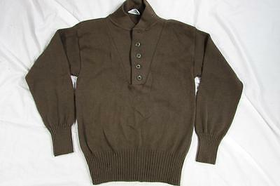 Vtg 1994 90s US Army Pullover Acrylic Sweater Size Medium Military Knit Rare