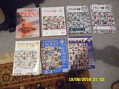 Antiques Info Magazine - Auction Guide. 41 Magazines. 1999 & 2001 to 2006.