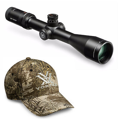 Vortex Viper HS 4-16x50mm Riflescope with Dead-Hold BDC Reticle (MOA) and Hat