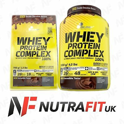 Olimp Whey Protein Complex 100% Double Chocolate Wpc Wpi Isolate Concentrate