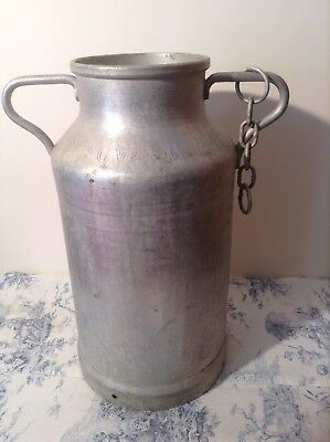 Vintage French Milk Churn - Vase, Garden Planter, Umbrella, Coal Scuttle (2717)