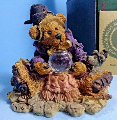 Boyds Bearstone Collection #2261 WILSON...WONDERFUL WIZARD OF WUZ 1995 LE