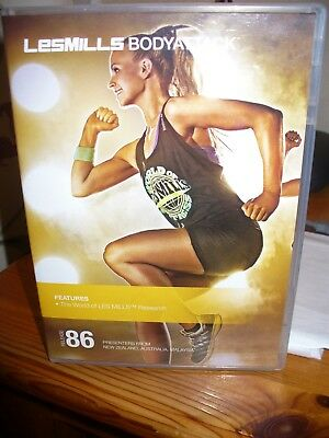 Les Mills Body Attack 86 - DVD and CD