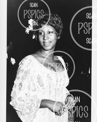 ARETHA FRANKLIN - ORIGINAL '70s B&W PHOTO