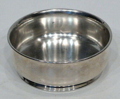 CARTIER Vintage ANDREW A TAYLOR Newark STERLING SILVER 1940's Child's / Dog Bowl