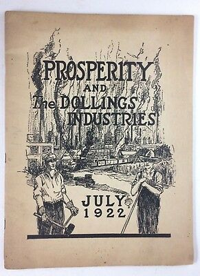 Vintage 1922 Prosperity and The Dollings Industries Investment Company Brochure