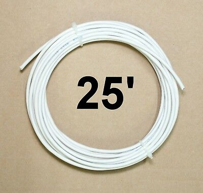 NEW Belden 82723 877 NAT 2 Pair 22 AWG 25 Feet Communication Cable White