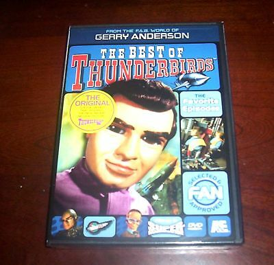 BEST OF THE THUNDERBIRDS Gerry Anderson Classic Television TV 2 DVD Set NEW