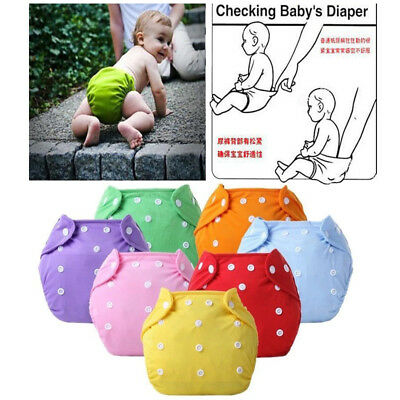 Adjustable Waterproof Cloth Reusable Washable Baby Nappy Pocket Diaper Comfort