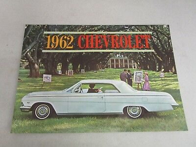 Vintage DEALERSHIP BROCHURE  *1962 CHEVROLET*