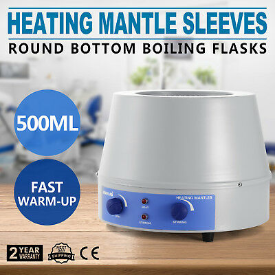 500ml Heating Mantle with Magnetic Stirrer 10V 98-II-B Series Top Quality