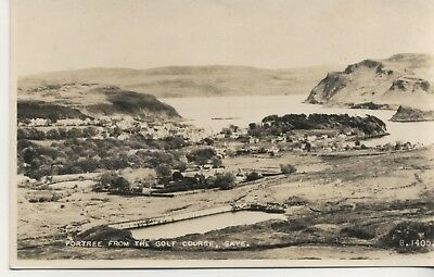 .Postcard.  Portree From The Golf Course, Skye