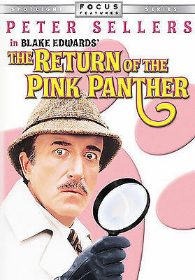 The Return of the Pink Panther, Peter Sellers, Christopher Plummer, DVD