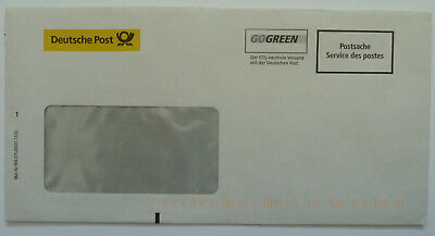 Alter Deutsche Post Brief Postsache Servive des postes GOGREEN codiert