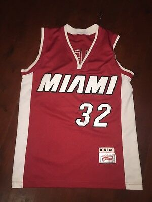 Shaq Number 32 Miami Original 90's All American Collection Size Medium