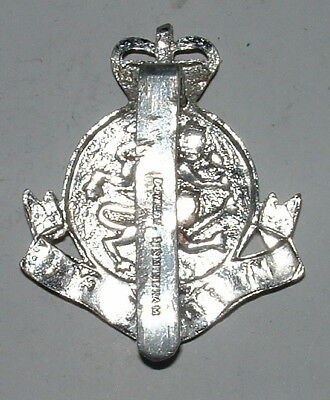 Army Depot Police Cyprus Anodised Cap Badges