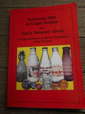 1st ed Australian Milk Cream Bottles Dairy equipment ice cream bottle tin book